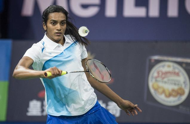 A file Photo of P.V.Sindhu