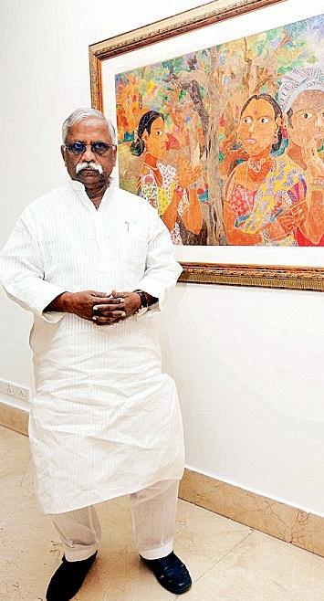 Padma shri K Laxma Goud Categery: Art-Painting (Telangana)