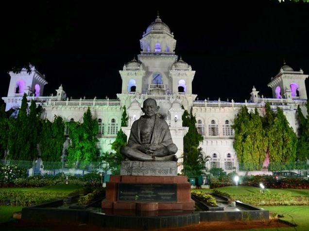 The Telangana Legislative Assembly. Photo: K.V.S. Giri / The HIndu
